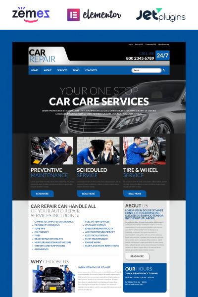 Responsywny motyw WordPress Cars #52721 #52721