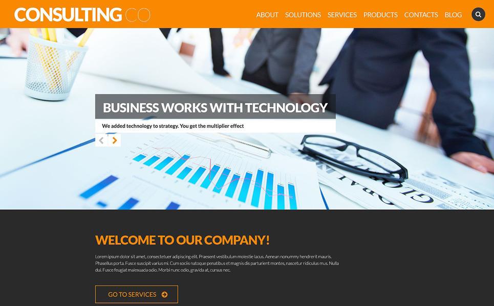 Responzivní WordPress motiv na téma Poradenství New Screenshots BIG