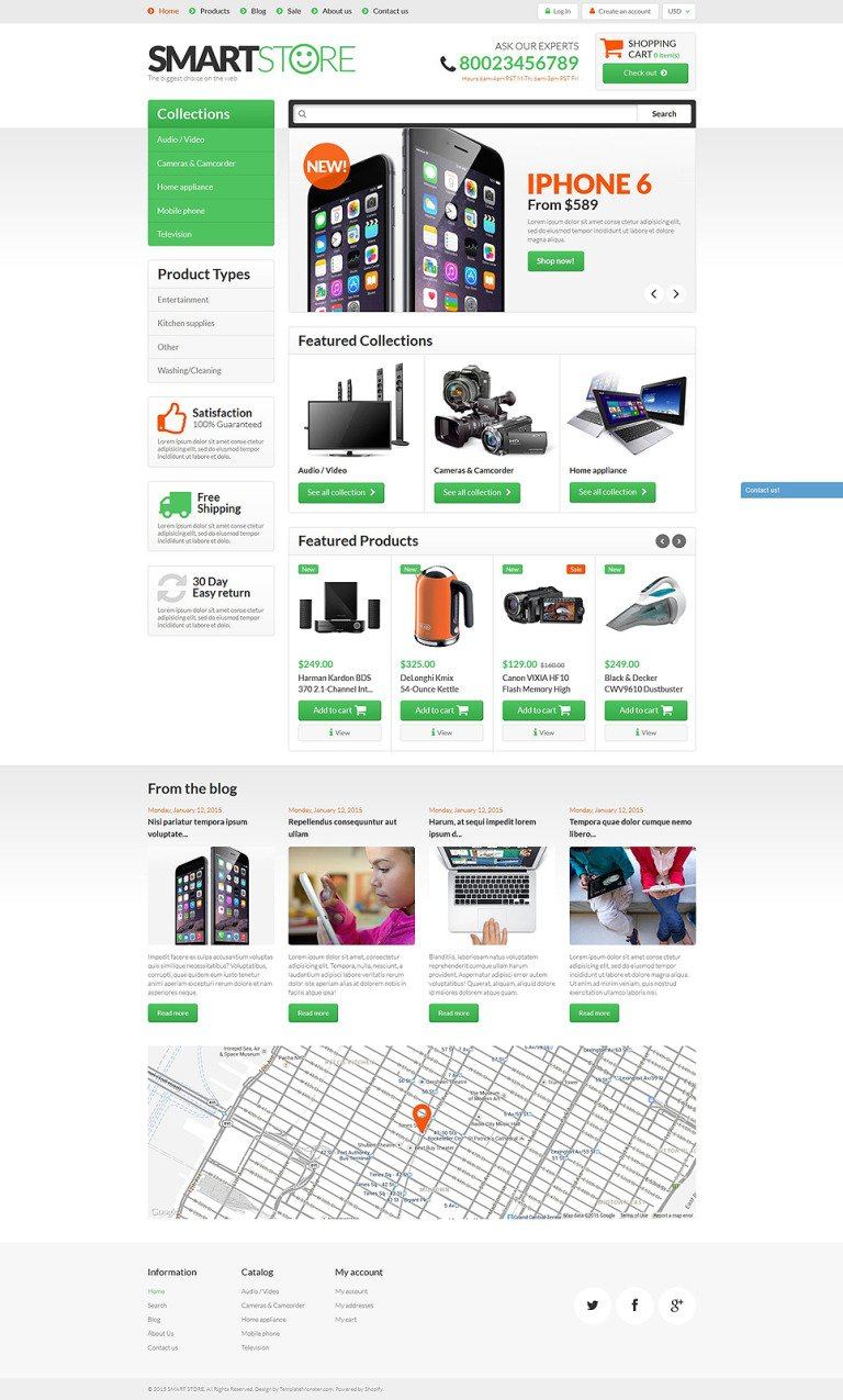 Smart Gear Shopify Theme New Screenshots BIG