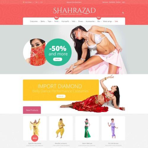 Shahrazad - Magento Template based on Bootstrap