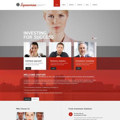 Thème Drupal adaptatif  pour site d'affaires et de services