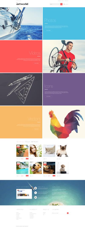 Responsive Tema De PrestaShop #52730 para Sitio de  para Sitio de Stock Foto