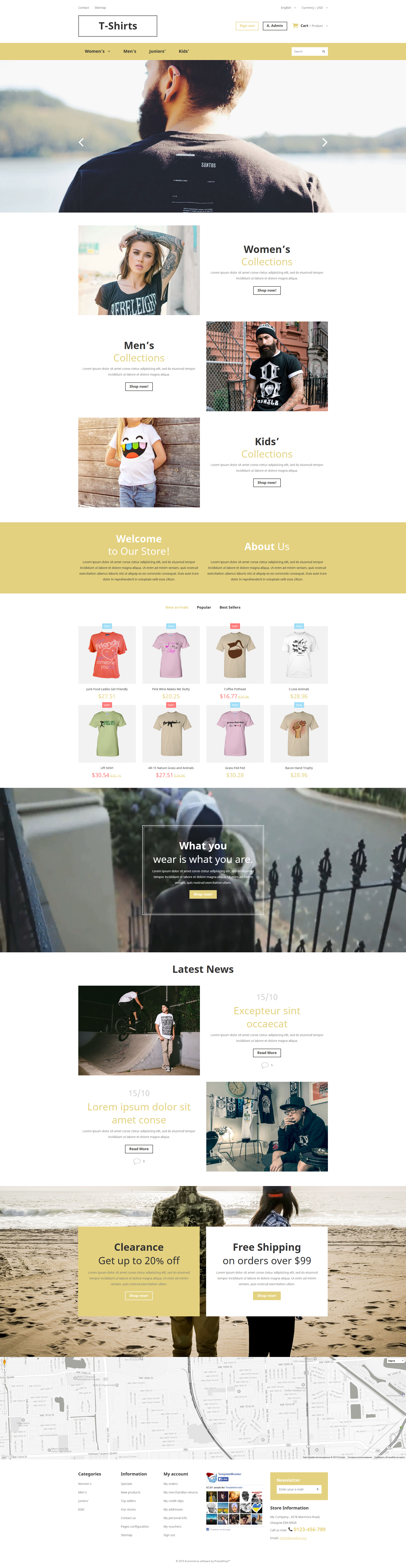 Trendy Fashion PrestaShop Theme