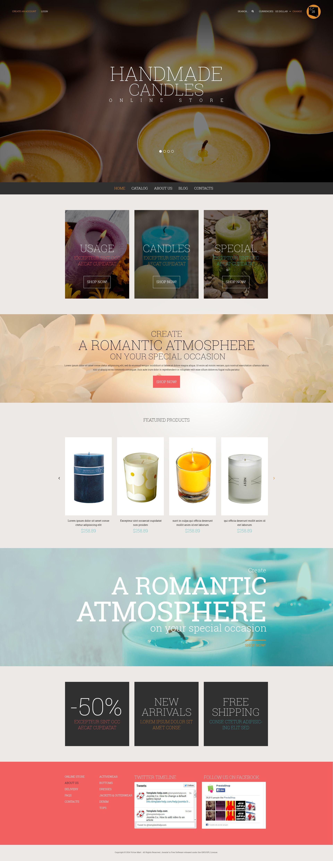 "VirtueMart šablona ""Fresh Style for Online Shop"" #52723"