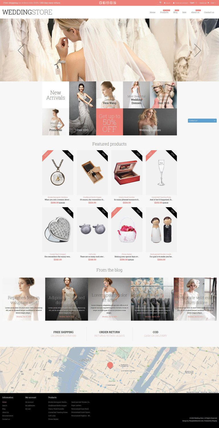 Wedding Store Shopify Theme New Screenshots BIG