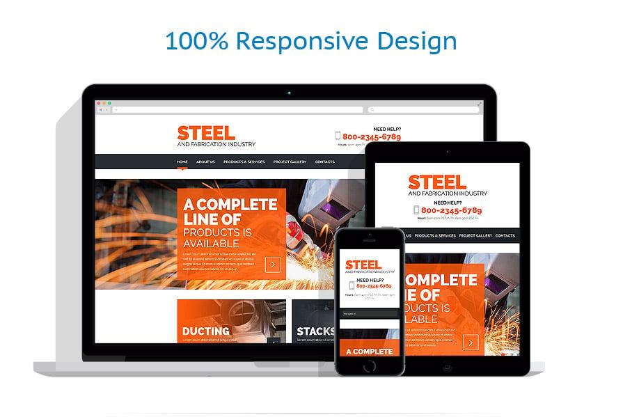 Modèles HTML5 Industriel #52807