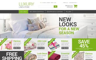 Luxury Linen Store Magento Theme