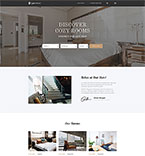 Hotels Website  Template 52815