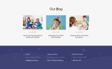 "Tema Siti Web Responsive #52818 ""Babyland - Kids Center Multipage Clean HTML"""