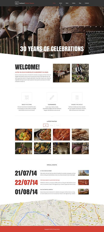 Drupal Template 52819 Main Page Screenshot