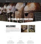 Cafe & Restaurant Drupal  Template 52819