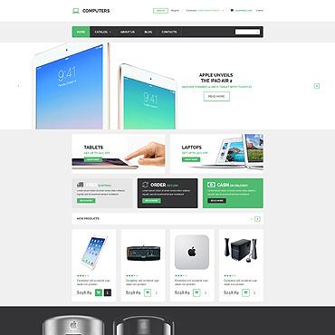 Купить  пофессиональные VirtueMart шаблоны. Купить шаблон #52822 и создать сайт.