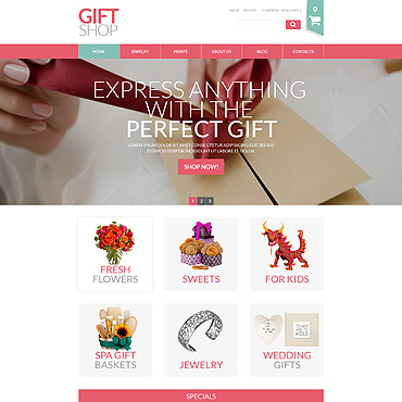 Купить  пофессиональные VirtueMart шаблоны. Купить шаблон #52823 и создать сайт.
