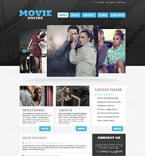 Entertainment WordPress Template 52828