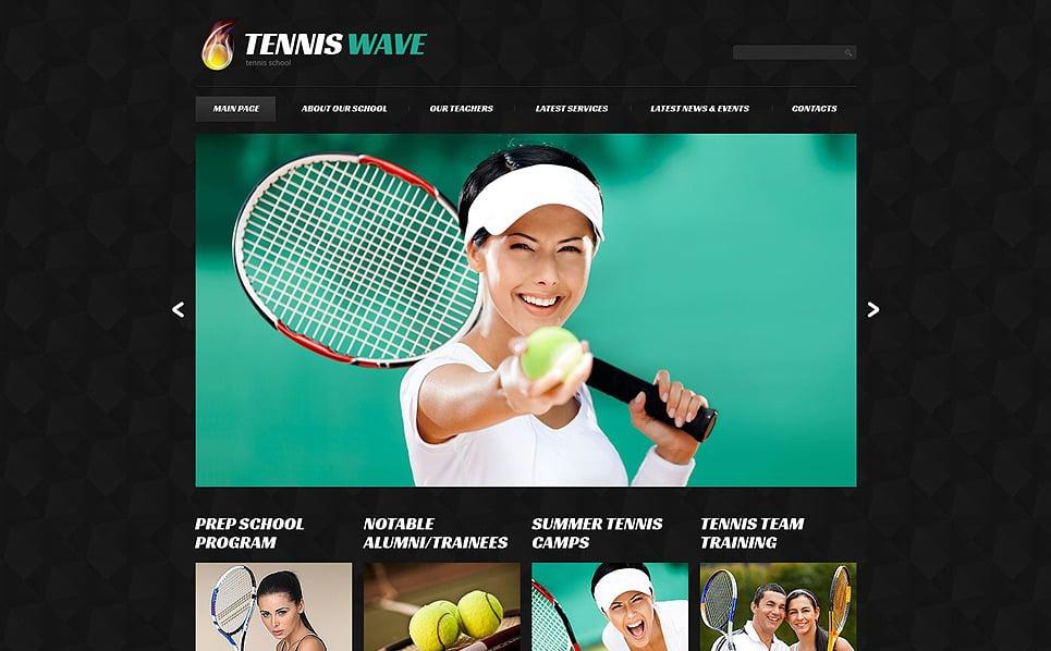 Responsive WordPress thema over Tennis  New Screenshots BIG