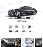 Cars WordPress Template 52831