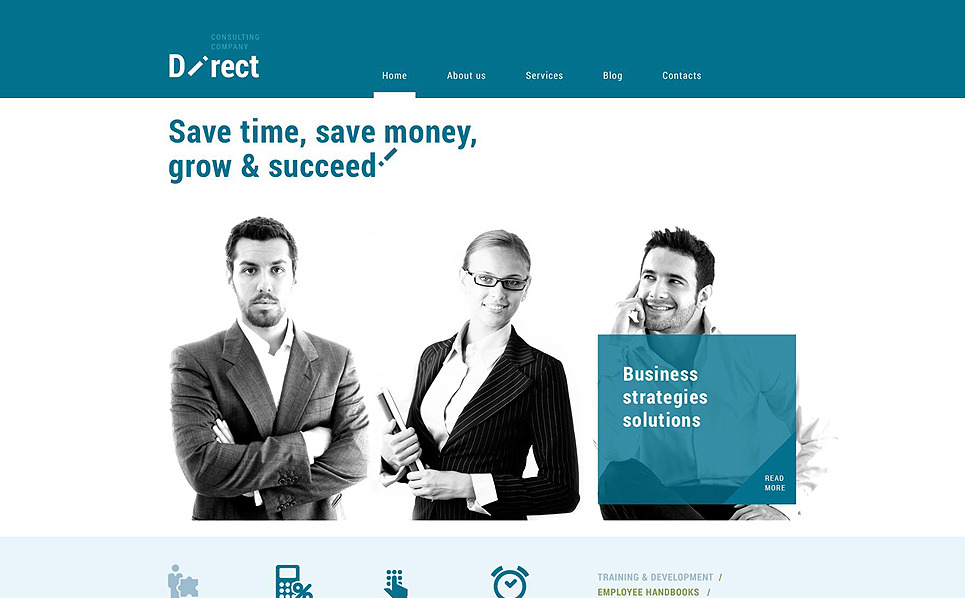Reszponzív Tanácsadás  WordPress sablon New Screenshots BIG