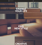 Furniture WordPress Template 52835
