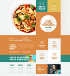 Cafe & Restaurant WordPress Template 52836