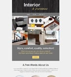 Furniture Newsletter  Template 52838