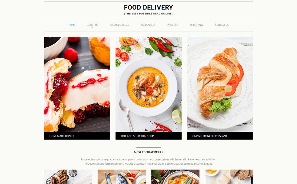 """Plantilla Web """"Tienda de Comestibles"""" New Screenshots BIG"""