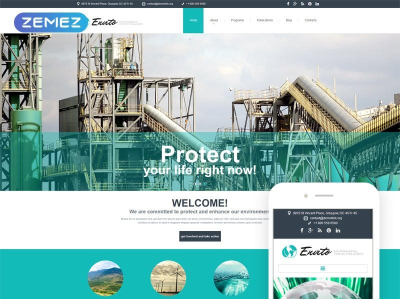 Responsive Joomla Template over Milieu New Screenshots BIG
