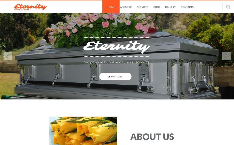 Template Joomla Flexível para Sites de Funerária №52846 New Screenshots BIG