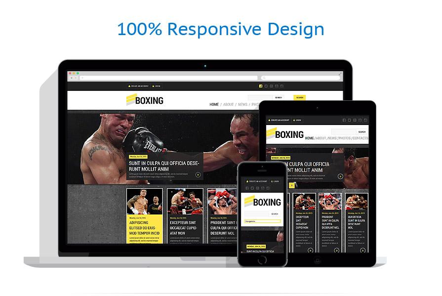 Modèles HTML5 Sport #52848