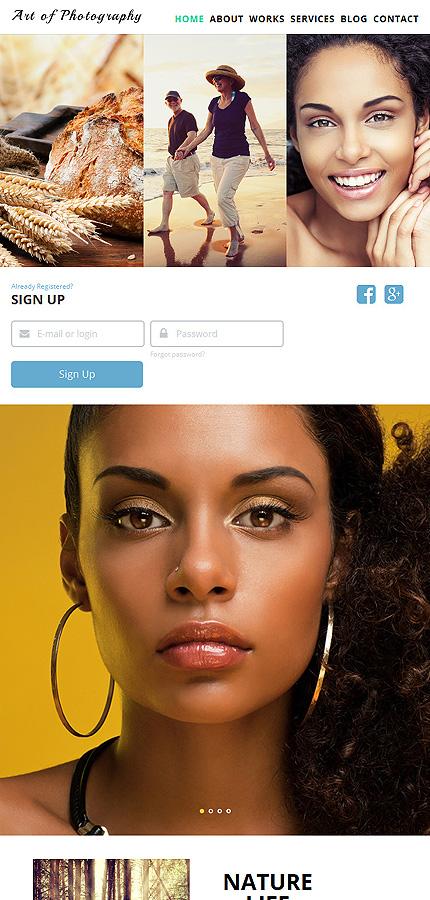Joomla Theme/Template 52853 Main Page Screenshot