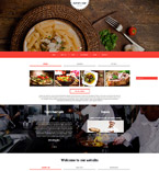 Cafe & Restaurant Joomla  Template 52854