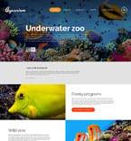 Animals & Pets Website  Template 52857