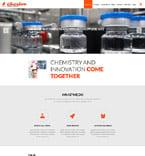 Science Website  Template 52859