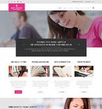 Education Website  Template 52862