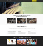 Charity Muse  Template 52870