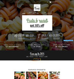 Food & Drink Shopify Template 52871