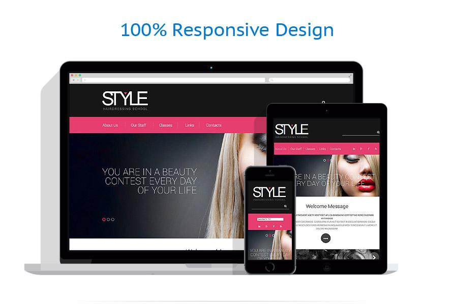 Modèles HTML5 Beauté #52875