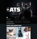 Animals & Pets Website  Template 52878