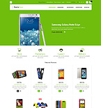 Electronics osCommerce  Template 52881
