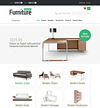 Furniture osCommerce  Template 52883