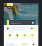Entertainment Website  Template 52887