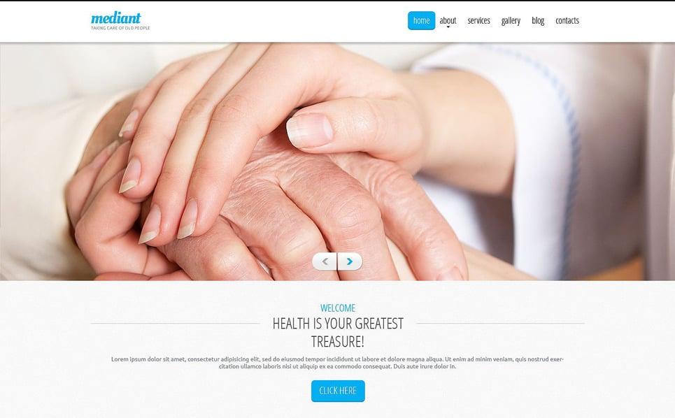Responsywny szablon Drupal #52894 na temat: opieka nad osobami starszymi New Screenshots BIG