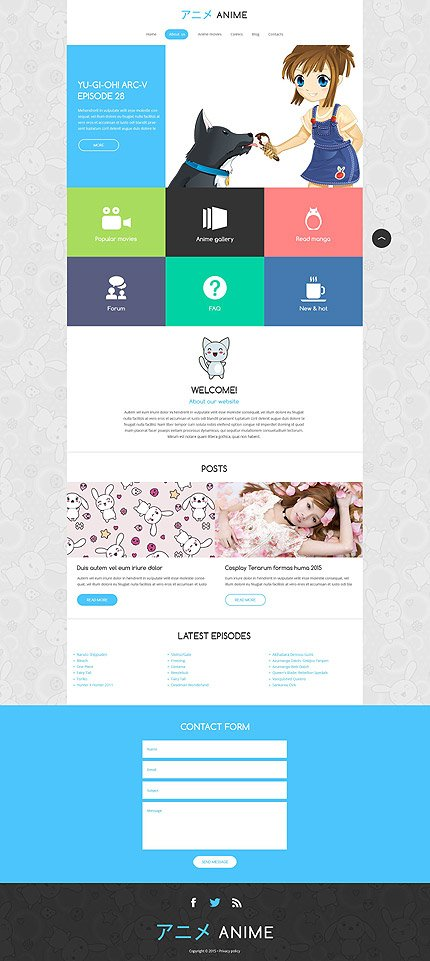 Drupal Template 52895 Main Page Screenshot