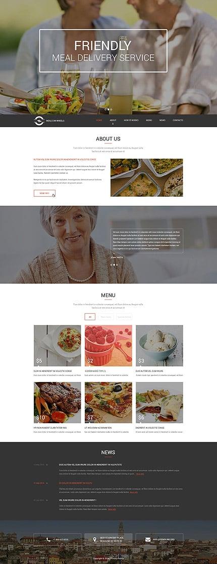 Drupal Template 52896 Main Page Screenshot