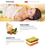 Beauty Website  Template 52897