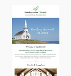 Religious Newsletter  Template 52899