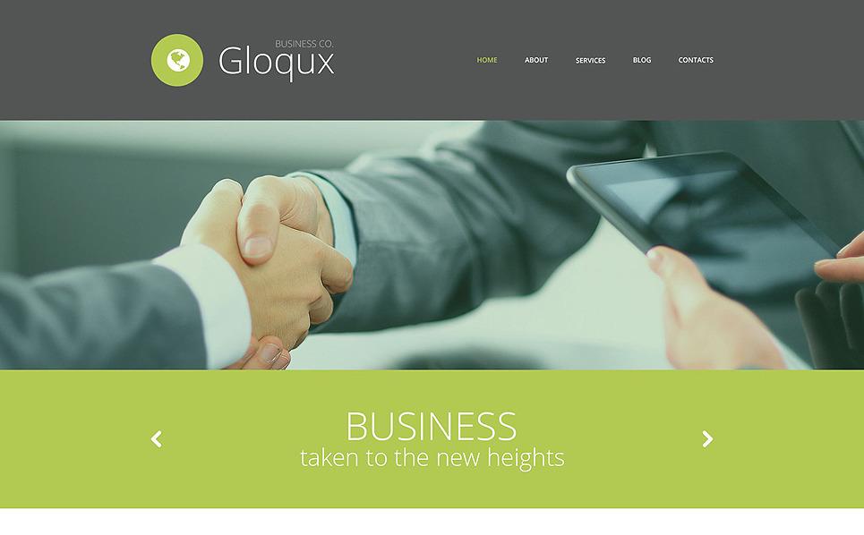 Адаптивный HTML шаблон №52877 на тему бизнес и услуги New Screenshots BIG