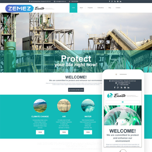 Envito - Joomla! Template based on Bootstrap