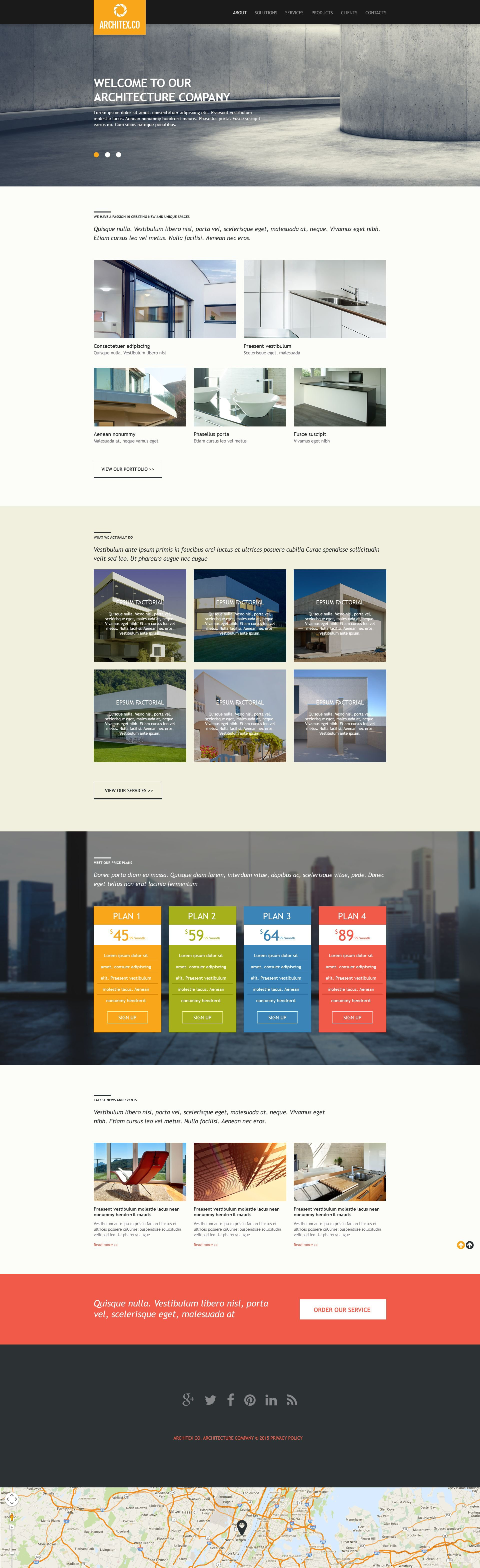 Építészet témakörű Muse sablon 52841