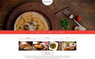 European Restaurant Responsive Joomla Template