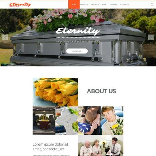 Eternity - Joomla! Template based on Bootstrap